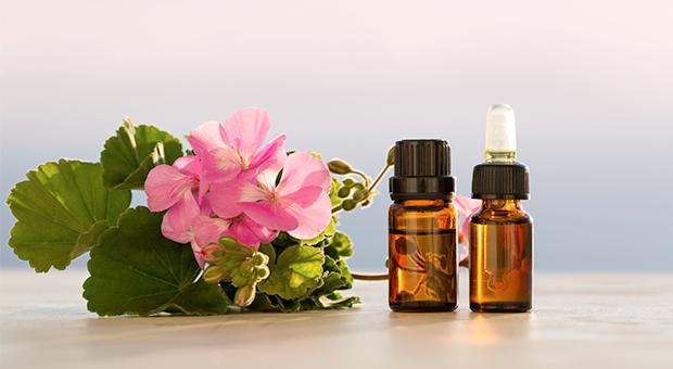 Healing with geranium