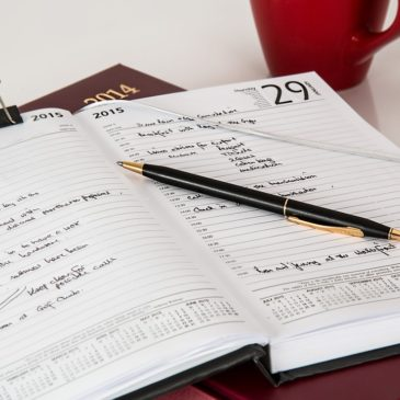 Diary updated until end of November